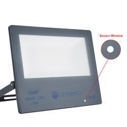 Прожсветильник с датчиком движения, светодиодный прожектор, водонепроницаемый прожектор IP67, 6500K, 50 Вт, 100 Вт, светильник светодиодный прожек...