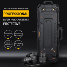 Suitcase Shooting-Gun Airsoft Military Tactical Protective-Case Paintball-Pistol Outdoor-Camera
