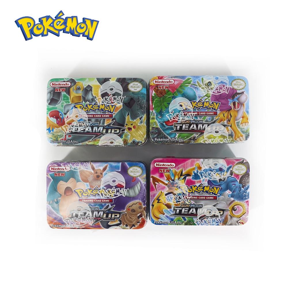 42PCS Pokemon GO Cards GX BREAK 3D Flash Card SWORD&SHIELD SUN&MOON Collectible Christmas Gift Children Toy