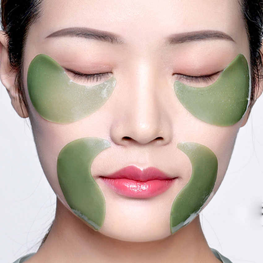 Kollagen Gel Augen Maske 60 stücke Bleaching Anti-Schwellungen Patches Gesicht Pflege Anti Falten Masken Entferner Augenringe auge gel auge haut
