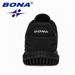 Image 3 - BONA 2019 New Designers Uomini Spaccato Della Mucca Casual Scarpe Uomo scarpe Outdoor A Piedi Scarpe Da Ginnastica Tenis masculino Zapatillas Hombre Maschio Alla Moda