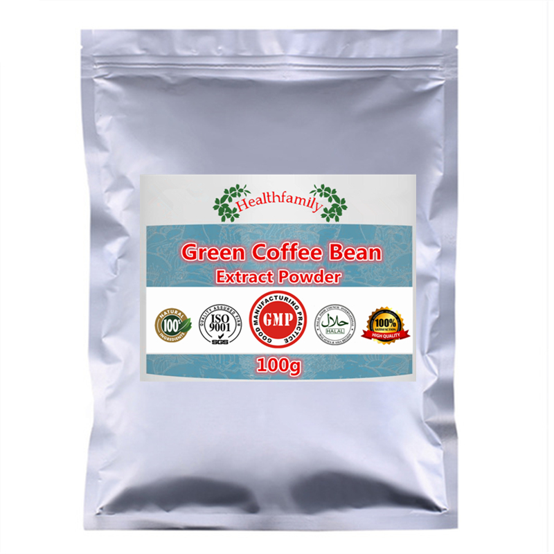 No Rebound Weight Loss,Green Coffee Bean Extract Powder,No Additves,Natural Slimming Figure