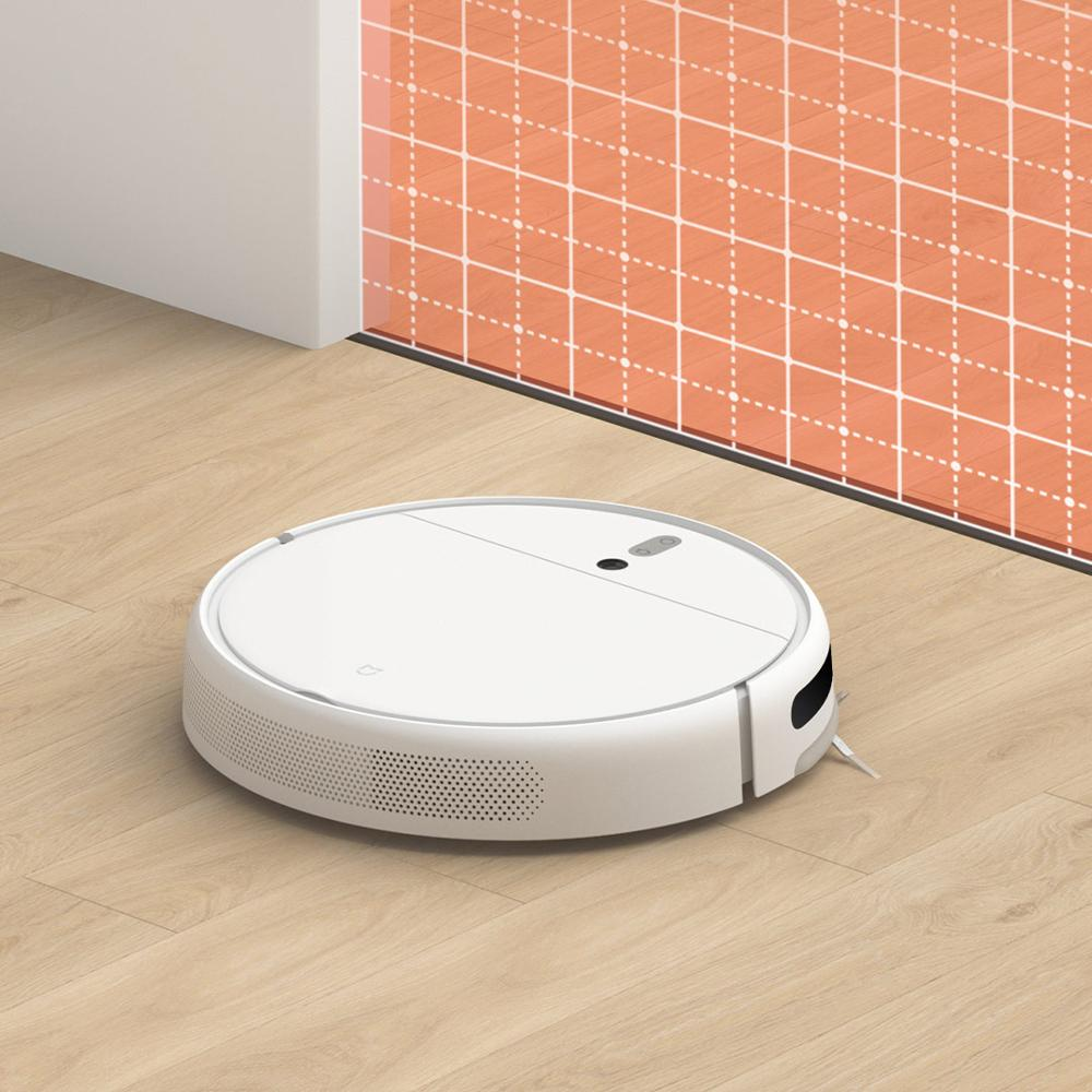 New XIAOMI MIJIA Sweeping Mopping Robot Vacuum Cleaner 1C for Home Auto Dust Sterilize 2500PA cyclone Suction Smart Planned WIFI 4