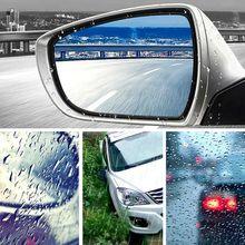 Für 6 Teile/satz Auto Rück Seite Spiegel Glas Regendicht Wasserdichte Film Seite Fenster Klar Anti Nebel Regen Membran Teile