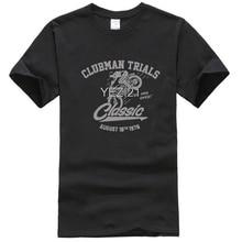 Camiseta de prueba de estilo Vintage, camiseta de hombre en gris, motocicleta Ossa Bultaco Montesa Fantic