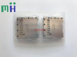 Image 1 - (1 pcs) NUOVO Originale Scheda di Memoria SD Slot di Montaggio Per Nikon D7100 D7200 D5300 fotocamera parti di riparazione