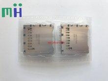 (1 uds) nueva ranura para tarjeta de memoria SD Original para Nikon D7100 D7200 D5300 piezas de reparación de cámara