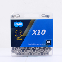 KMC chain X10.93 with original box X10SL X10EL gold light chain for MTB road bike bicycle parts accessories X9 X8 X11 X12