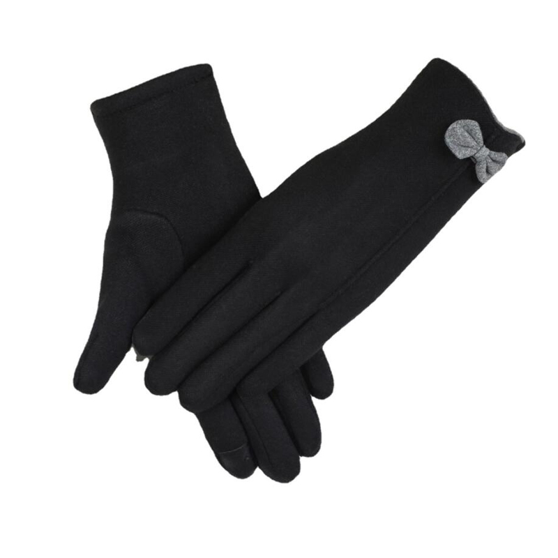 2021 New Winter Women's Gloves Cold Touch Screen Suede Warm Plush  Gloves Lady Female Driving Mittens High Quality