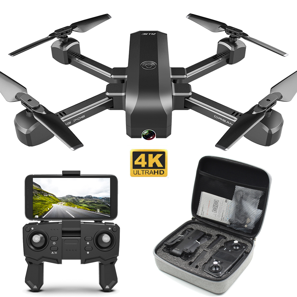 Drone 4K 1080P Dual Camera Quadcopter ESC Camera 50x zoom Profissional Drone Optical flow Positioning Smart Follow RC Helicopter