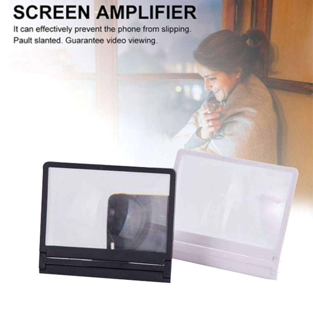 3D Mobile Phone Magnifier Hd Video Eye Protection Radiation Protection Screen Magnifier Smart Phone Movie Phone Stand