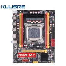Kllisre x79 lga 2011 placa-mãe M-ATX m.2 nvme suporte slot intel xeon e5 v1 & v2 processador ddr3 ecc ram x79g desktop mainboard