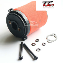 Air Filter set fit for HPI KM ROVAN Baja 5B 5T 5SC for 23cc 26cc 29cc 30.5cc 32cc 36cc engine for Rovan King Motor