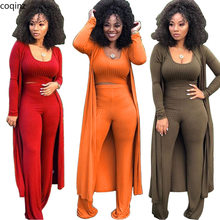 Plus Size Summer 2019 Womens Tops and Blouses 3 Piece Set Matching Sets Tracksuit Women Club Outfits Ladies Sweat Suits K9294(China)