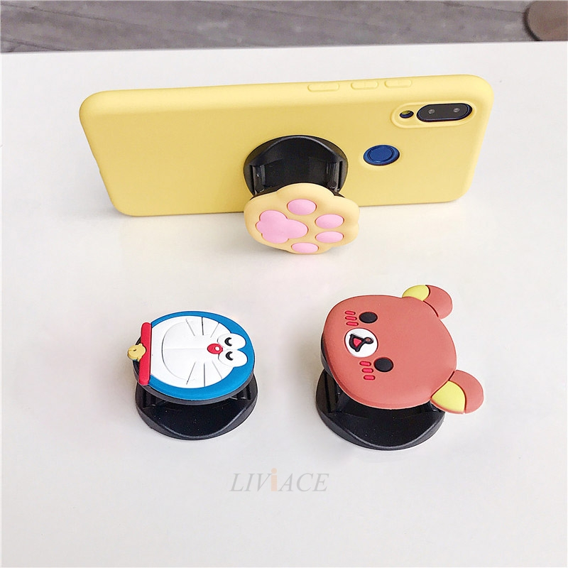 3D Cartoon Phone Holder Standing Case for Xiaomi Redmi Phone Made Of High-Quality Silicone And TPU Material 14