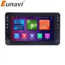 Gps eunavi automotivo com android 9, 4g, 64 gb, dvd, para alfa romeo, alfa romeo 159, brera 159, sportwagon rádio navegação automática tda7851 wifi