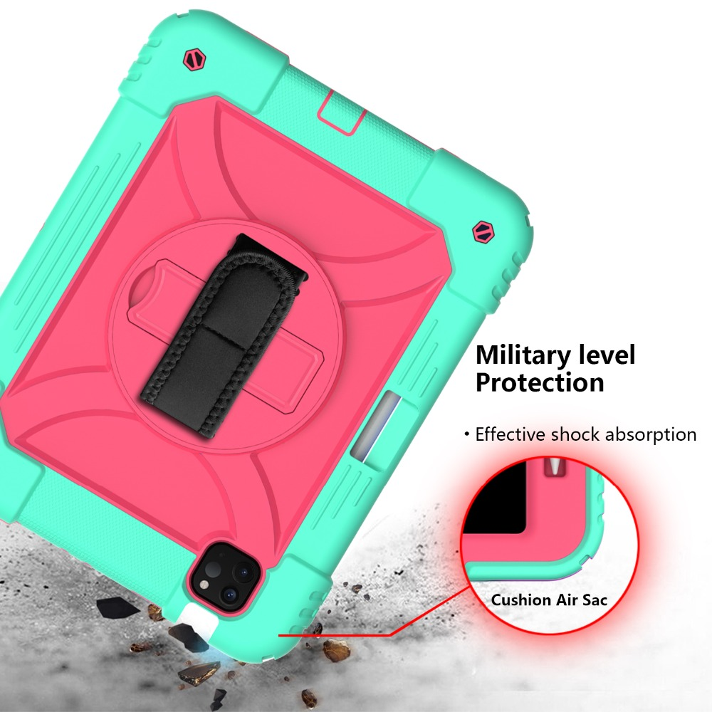 10.9 Shockproof Air iPad 2020 iPad Tablet Armor 4 For Case 3 Layers for Kids Hybird Case