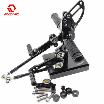 FOR Ducati STREETFIGHTER 848 1100 CNC Aluminum Adjustable Motorcycle Rearset Rear Set Foot Pegs Pedal Footrest STREETFIGHTER 848