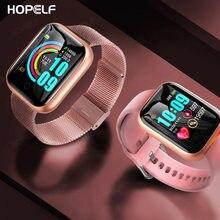 Smart Horloge Vrouwen Man 2020 Sport Smartwatch Fitness Armband Activiteit Tracker Hartslagmeter Voor Android Relojes Smart Horloge