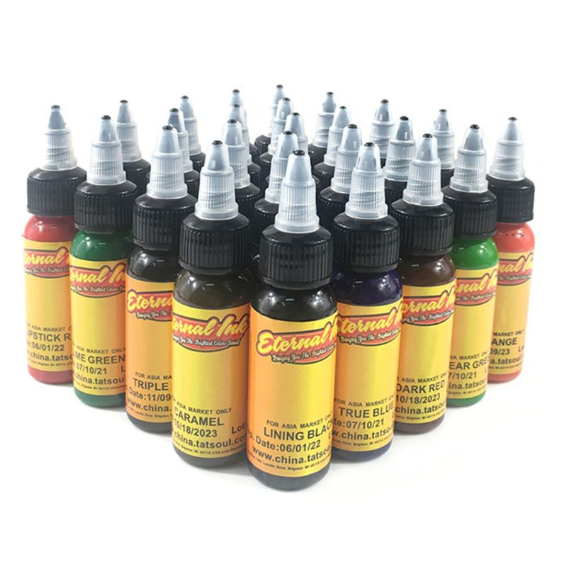 2019 NEW Tattoo Inks 7 Colors 30ml/bottle Tatto Pigment Inks Set For Body Tattoo Art Kit