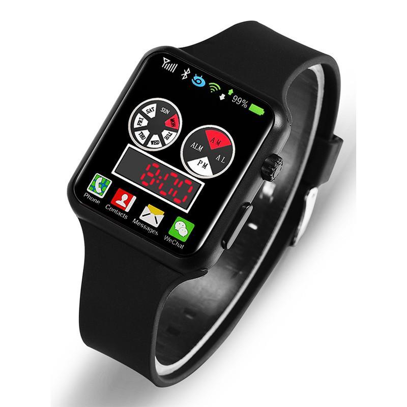 Men Sport LED Watches Men's Digital Watch Men Watch Silicone Electronic Watch Child Clock Reloj Hombre Hodinky Relogio Masculino