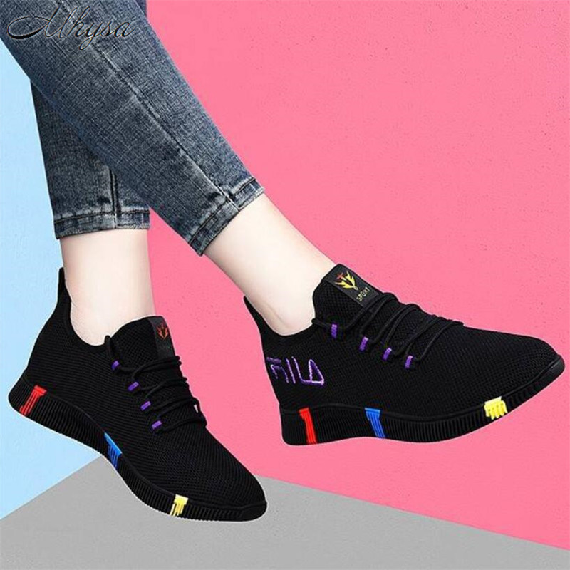 2020 New Spring Women casual shoes Breathable Mesh platform Sneakers Women New Fashion mesh sneakers