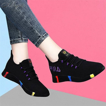 2020 New Spring Women casual shoes Breathable Mesh platform Sneakers Fashion mesh sneakers woman tenis feminino