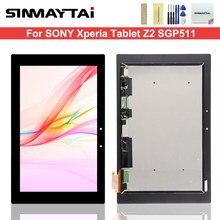 10.1 ''panel wyświetlacza lcd + montaż digitizera ekranu dotykowego dla Sony tablet xperia Z2 SGP511 SGP512 SGP521 SGP541 SGP551 SGP561