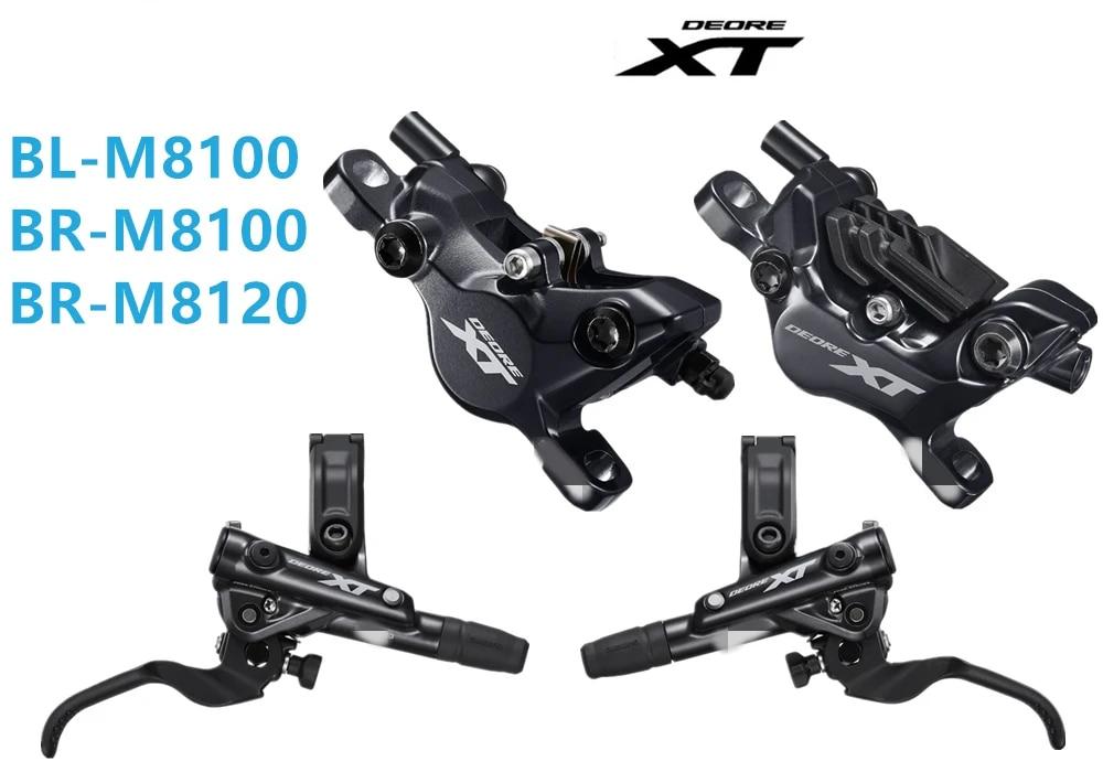 New 2020 Shimano Deore XT M8100 Hydraulic Brake set 1700mm 1000mm