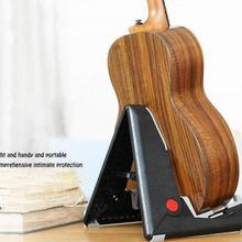 Guitar Folding Bracket Stand Bass A Type Vertical Portable Stents