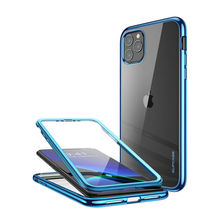 For iPhone 11 Pro Max Case 6.5 inch (2019) SUPCASE UB Electro Metallic Electroplated + TPU Cover with Built in Screen Protector