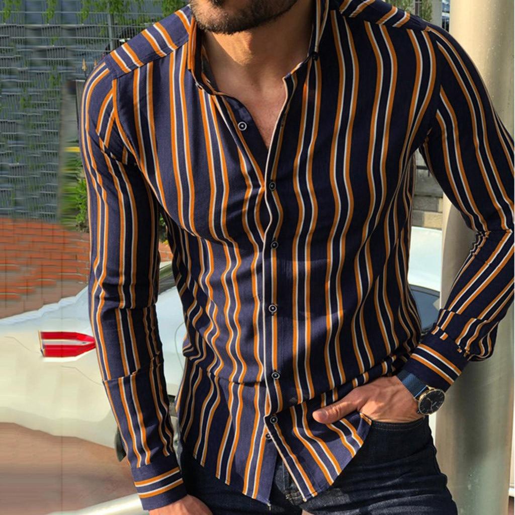 Shirt Camisa Masculina Men Shirt Men Camisas Hombre Chemise Homme Streetwear Camisa Fashion Casual Daily Long Sleeve рубашка Z4