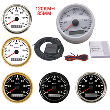 Gauge Speedometer-Gauge Boat-Motor Gps-Speed Universal 85mm for Car Truck Auto with Red