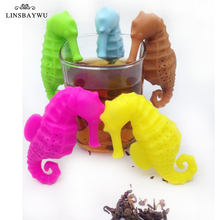 Silicone Tea Infuser Sea Horse Tea Strainer Filter Silicone Sloth Tea Infuser for Drinking Coffee Tea Accessories Kitchen Tools