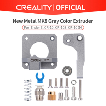 CREALITY 3D New Metal MK8 Gray Color Extruder Aluminum Alloy Block Bowden Extruder 1.75mm Filament For Ender CR Series Printers