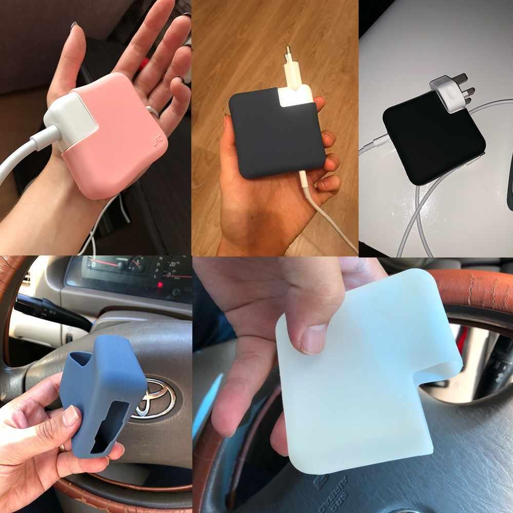 Ultra ince silikon şarj koruyucu kılıf kapak MacBook Air Pro 13 15 16 inç dokunmatik bar 2020 A2289 A2179 a2141 A2159 A1932