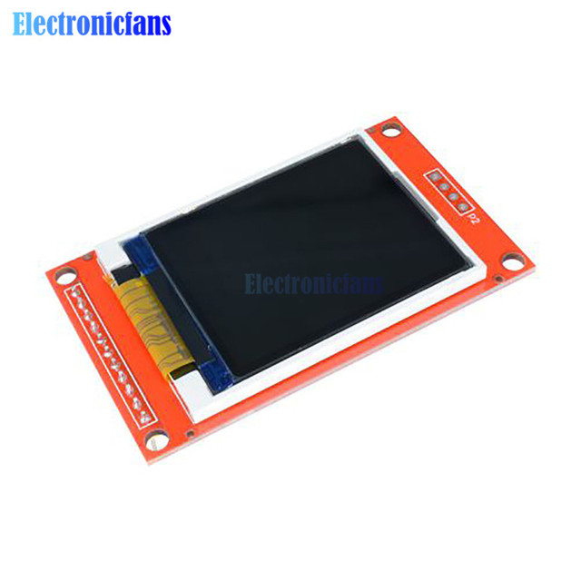 1,44/1,8/2,0/2,2/2,4/2,8 pulgadas TFT pantalla a Color LCD módulo Drive ST7735 ILI9225 ILI9341 interfaz SPI 128*128 240*320