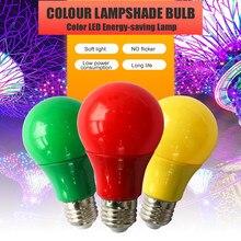 2020 colorido lâmpada led e27 lâmpada led barra de luz 7 w 9 lâmpada vermelho azul verde amarelo rosa lampara luz ktv festa decoração para casa iluminação
