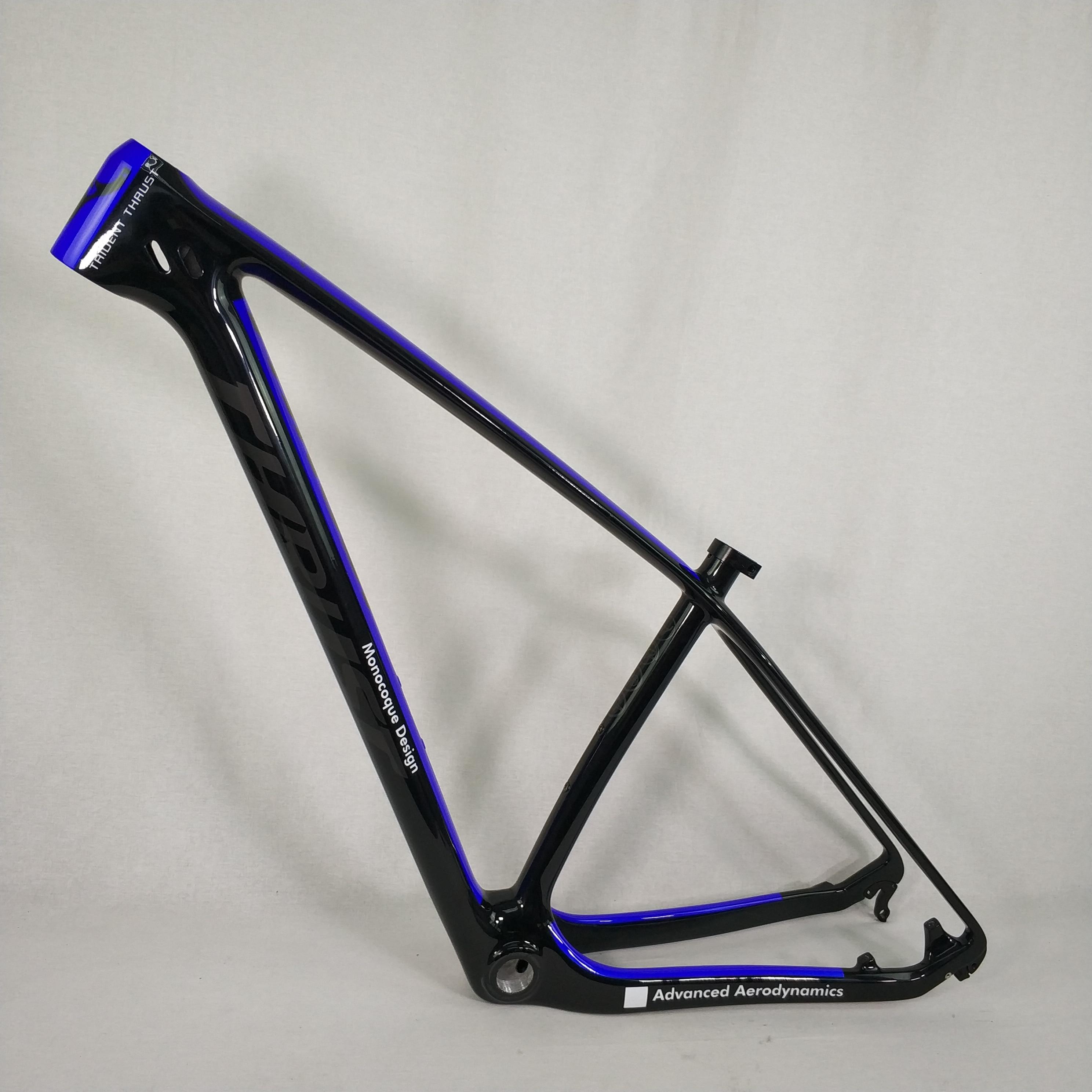 "T800 Toray Carbon Fiber 29ER Mountain Bike Bicycle MTB Cycling Frame 19/"" BSA"