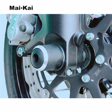 MAIKAI motorcycle Front wheel fork Sliders Crash protector For Benelli Leoncino 500 leoncino500 2018-2019 цена и фото