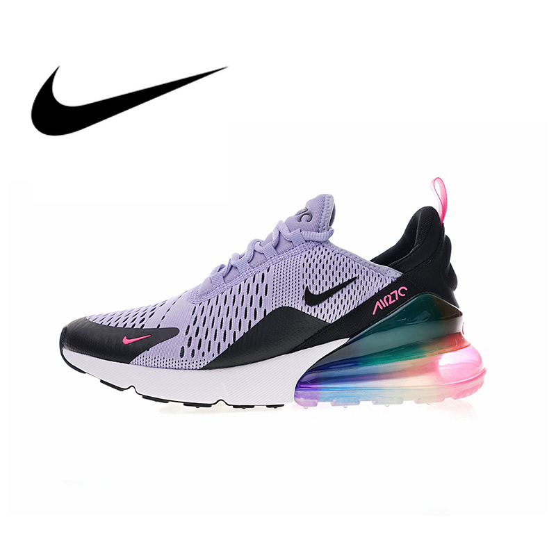 Original Nike Air Max 270 Women's Running Shoes Sport Outdoor Sneakers Athletic Designer Footwear 2019 New Arrival AR0344-500