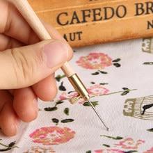 Outils de broderie paillettes de perles | Crochet de Tambour avec 3 aiguilles 70 90 100, paillettes de perles, crochets à aiguilles, Kit d'outils de broderie de perles
