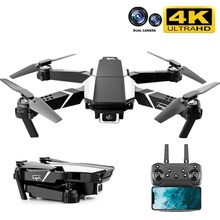 Drone 4k HD Dual Camera Visual Positioning 1080P WiFi Fpv Drone Height Preservation Rc Quadcopter S62 Pro Drones Toys