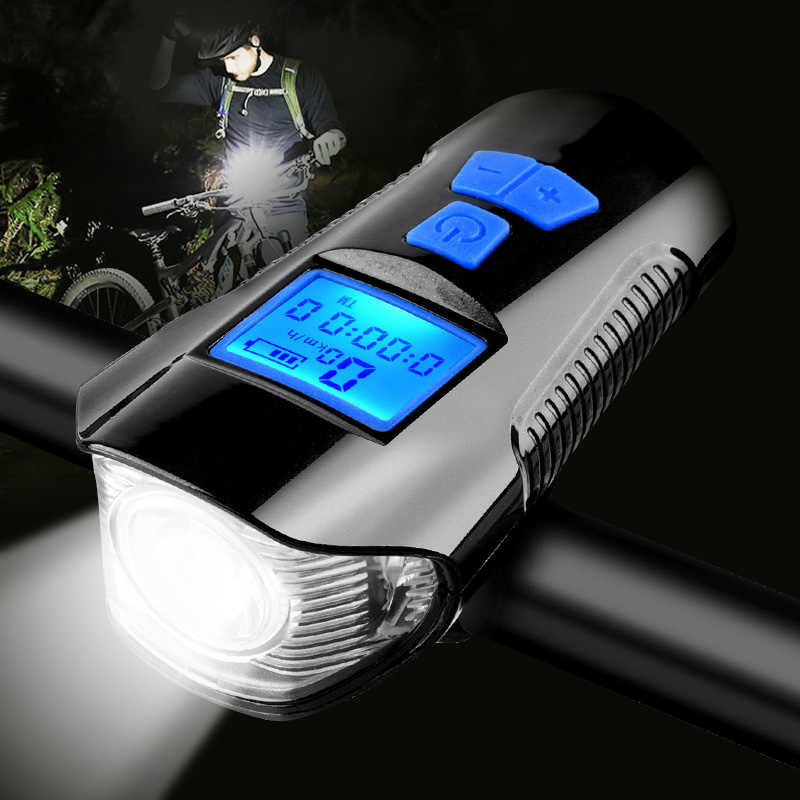 Fit For Bicycle Head Light Front Handlebar Lamp Flashlight 3000LM Waterproof LED