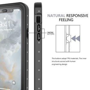 Image 3 - Iphone 11 11 プロマックス 11 プロケース IP68 防水 360 度耐衝撃カバー浮力綿 iphone 11 水中