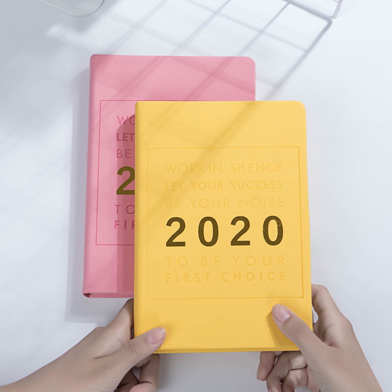 A5 Creative Kawaii Girl Agenda 2020 Planner Organizer Notebook Soft Thicken Daily Weekly Diary Journal Stationery Gift Supplies