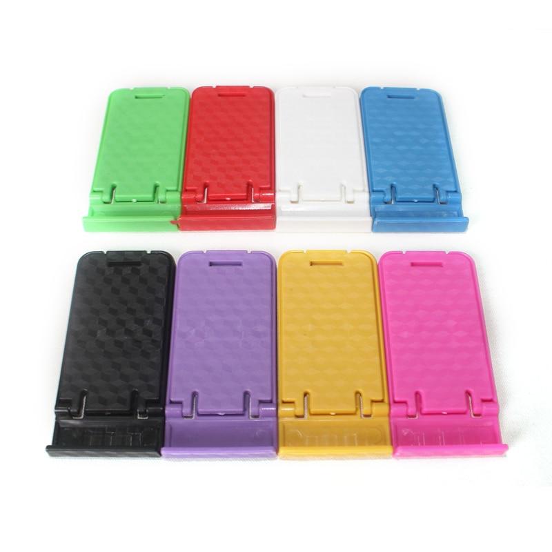 Phone Holder Cellphone Stand Universal Mobile Phone 1PC Desk Universal PT Plastic Adjustable Folding Smart Phone Holder Seat