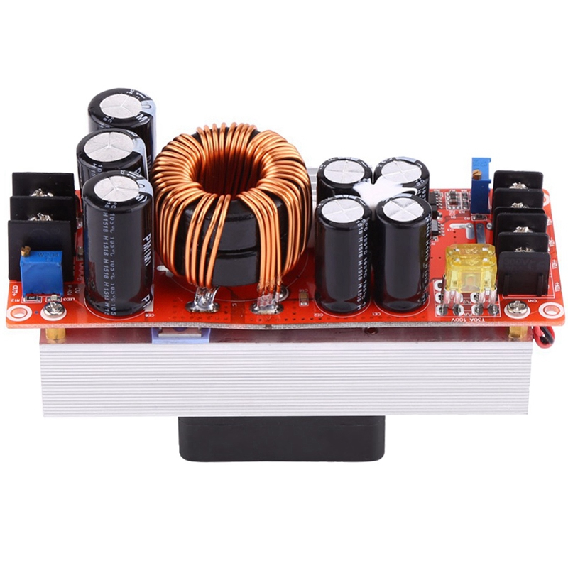 1500W Dc-Dc Step-Up Boost Converter 10-60V To 12-90V 30A Constant Current Power Supply Module Led Driver Voltage Power Converter