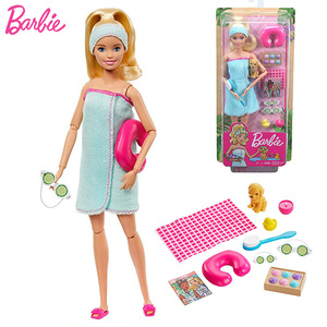 Image 5 - Barbie Original Made To Move 22 Joints Doll Yoga Movement Dolls Girls Reborn Educational Toys for Children Birthday Boneca Gift