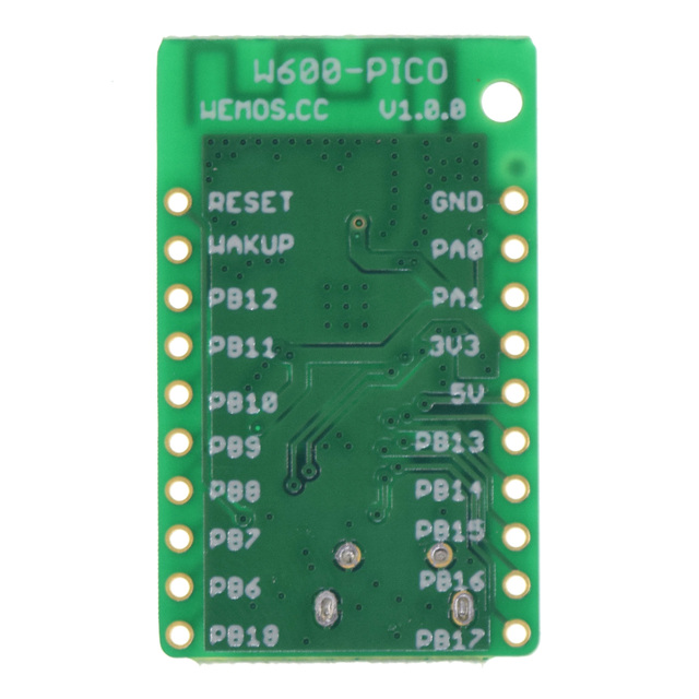 W600-PICO V 1.0.0-wifi board basierend W600 1MB FLASH MicroPython